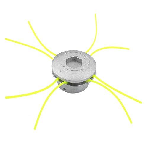 Cortador de Cabeza de Aluminio Universal Accesorios de Cortacésped Herramienta de Poder Jardín de Césped Espacio Verde Residencial