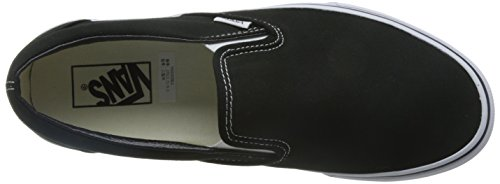 VansU CLASSIC SLIP-ON BLACK - Mocassini unisex adulto Nero (Black)