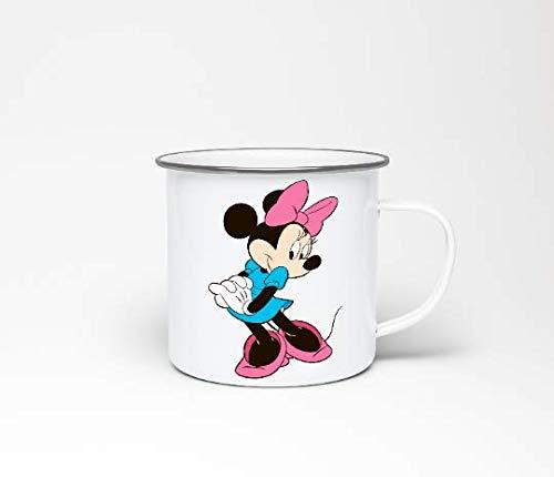 jbosstudio Minnie Mouse Emaille Becher, Disney Emaille Becher, Disney Geschenke, Disney Schmuck, personalisierte Becher, Emaille Becher, Kaffeetasse, Geschenke für sie, einzigartige Tassen