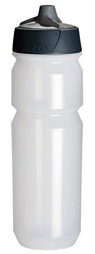 Tacx Trinkflasche Shanti 750 ml mit Membranverschluß und Füllstandsanzeige Transparent -
