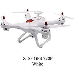 X183s Drone con cámara HD FPV RC Drone Posición GPS Fotografía aérea Altitud Mantener sin cabeza 360 Flip Professional Drone