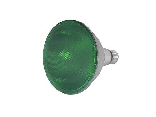 Omnilux LED-Leuchte PAR-38,230V, SMD, 15W, E-27-Sockel,grün - Par38 Fassung