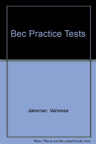 BEC Practice Tests Preliminary: BEC Practice Test Preliminary: Cassette (2) por Varios Autores