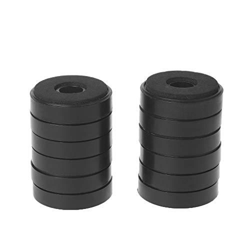 SimpleLife Dämpfung Dämpfung für Audio-Stereo-Lautsprecher Verstärker Füße Pad (Set von 12) (Stereo-lautsprecher-verstärker)