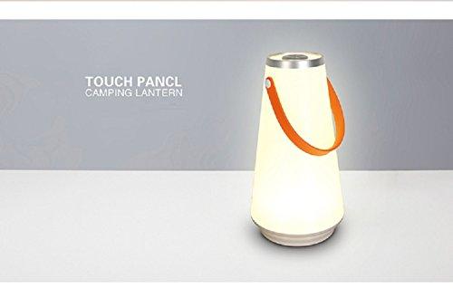 VIO Desktop-Beleuchtung Strand Aufladen Schreibtisch Lampe Kreative Tragbare Schlafzimmer Camping Hängenden Nachtlicht,Weiß,Einheitsgröße