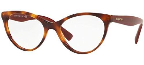 Valentino Brillen VA 3013 HAVANA BURGUNDY Damenbrillen