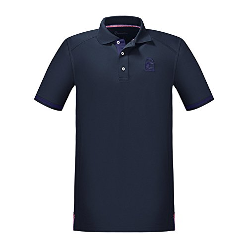 Cavallo Herren Funktions-Poloshirt Kato, darkblue, S