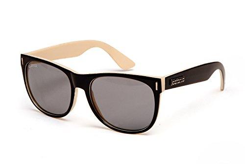 Catania occhiali sole - nuova collezione - uv400 (uva & uvb) - wayfarer stile - limited edition