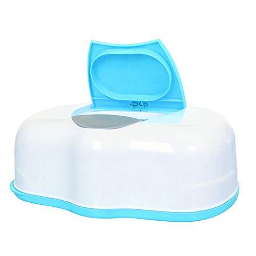 he Auto Pop-Up Automatik Baby Feuchttücher Tasche Tasche Etui Halter blau ()