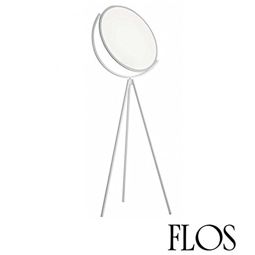 Flos Superloon LED EDGE Lampadaire Orientable F6630009 Blanc Design Jasper Morrison 2015 Made in Italy