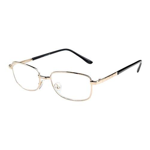 Haodasi Mode Super Licht Lesebrille Damen Herren Vintage Rund Metall Rahmen Glas Linse Lesen Brille 1.0 1.5 2.0 2.5 3.0 3.5 4.0 4.5 5.0 5.5 6.0