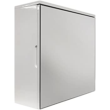 cube high gloss square mirror bathroom wall storage cabinet white