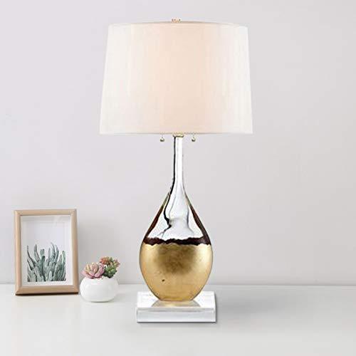 Jfhgnj Lámpara de mesa Moderna y minimalista Botella de vidrio de ...