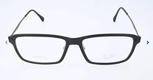 Ray-Ban Unisex-Erwachsene Brillengestell 0rx 7038 2077 55, Schwarz (Matte Black)