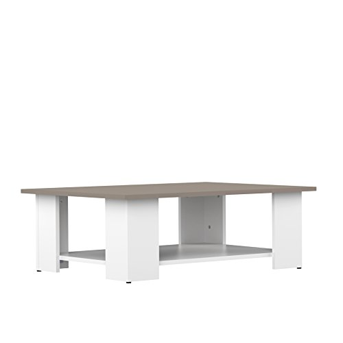 Symbiosis 2082A2191X00 Table Basse BLANC/TAUPE