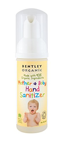 Bentley Organic Mother & Baby Hand Sanitizer - 50ml (Pack of 2)