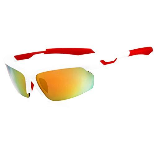 Polarisierte Sonnenbrille mit UV-Schutz Flexible männer polarisierte sport sonnenbrille mit 5 stücke austauschbare linsen outdoor radfahren baseball Superleichtes Rahmen-Fischen, das Golf fährt