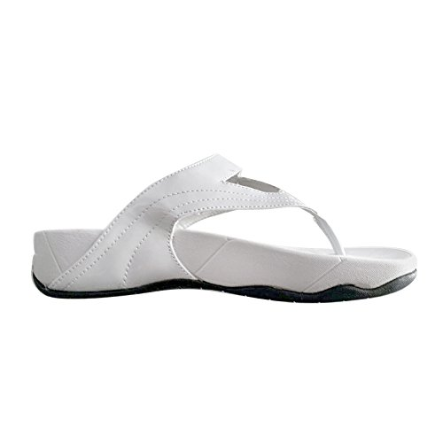 Dupè Abbate Bloc Tongs Comfort Premium femme bianco
