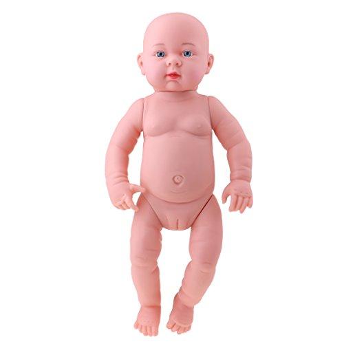 Sharplace Poupée Bébé Reborn - Poupon Bébé Nue - Jouets Cadeaux Enfant - 52cm - Fille