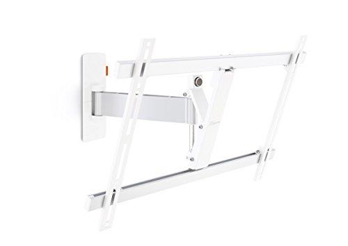 Vogel's WALL 2325 TV-Wandhalterung für 102-165 cm (40-65 Zoll) Fernseher, 120° schwenkbar und neigbar, max. 30 kg, Vesa max. 600 x 400, weiß