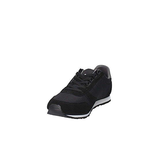 Tommy Hilfiger FM0FM01118 Sneakers Homme Black-Steel Grey
