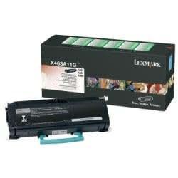 Lexmark X463A11G Cartouche de toner pour X463, X464, X466 Noir