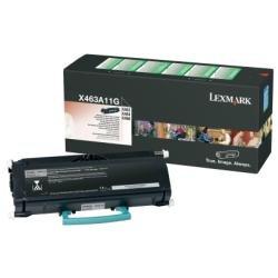 Preisvergleich Produktbild Lexmark X463A11G X463, X464, X466 Tonerkartusche 3.500 Seiten return program, schwarz