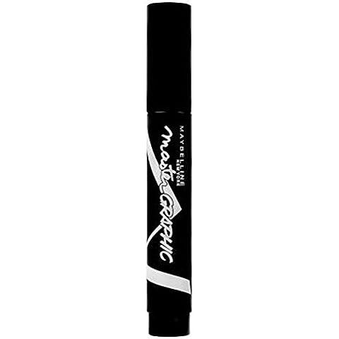 MaybellineMaestro Eyestudio Eyeliner Grafico (Confezione da 6) - Dolce Grafico
