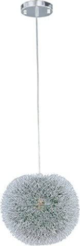ET2 Lighting 24373 Clipp Single Pendant Fixture, Brushed Aluminum Finish, 12-Inch by 14-Inch by ET2 Lighting