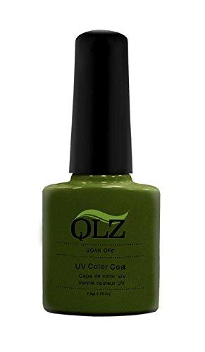 ongles de Kaga Qlz saine Soak Off Vernis à ongles gel, N ° 010, olive Cocktail