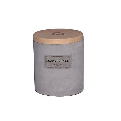 Leinen Duftkerze (houseproud Concrete Candle (Sea Minerals))