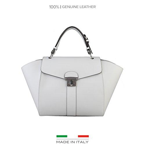 Made In Italia Rossella, Borsetta da polso donna bianco bianco