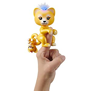 Wow Wee Baby Lion-Sammy Mascota Interactiva, Color Amarillo (3526)