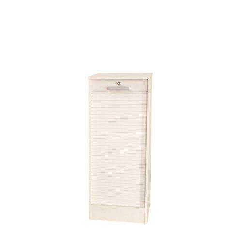 Classeur à rideaux-Blanc-138 cm/7142A2121R91