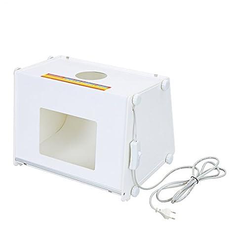 "SANOTO 12 ""x 8 » Mini Portable Kit Photo photographie Softbox Studio de la boîte lumineuse MK30 220V"