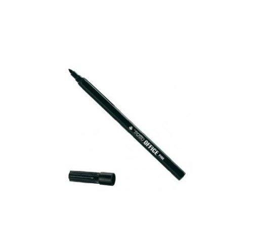tratto-730503-marcatore-a-base-dacqua-12-pezzi-nero