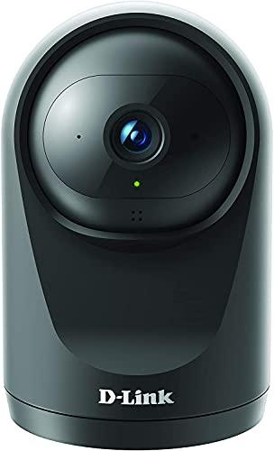 Oferta de D-Link DCS-6500LH Cámara WiFi seguridad hogar, Full HD, Lente motorizada visión 360°, visión nocturna, gestión remota desde app mydlink, grabación en nube, WPA3, Alexa, negra