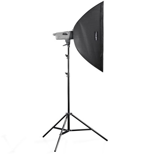 Walimex Pro Studioset VE-150 Excellence (inkl. Blitz 150Ws, Stativ, Softbox 60x90cm)
