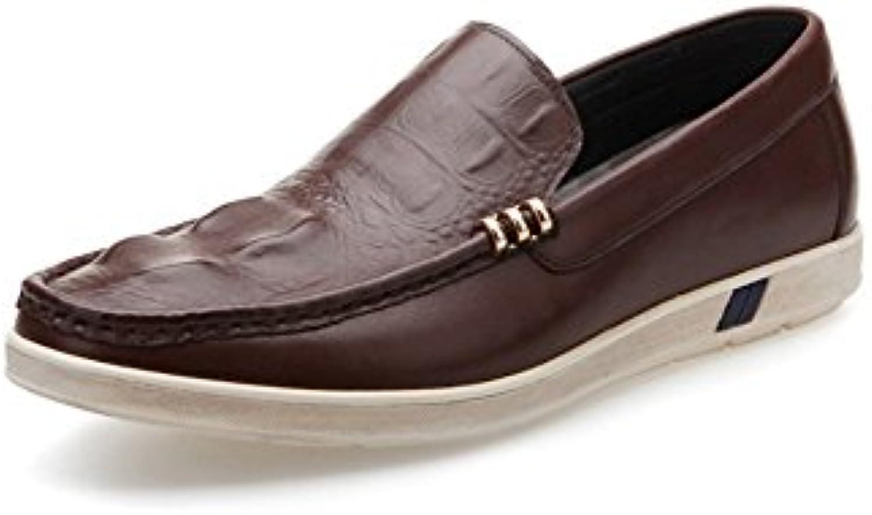 LYZGF Uomo Gentleman Business Casual Metal Fashion Office Scarpe in Pelle di Mezza età | Stili diversi  | Maschio/Ragazze Scarpa