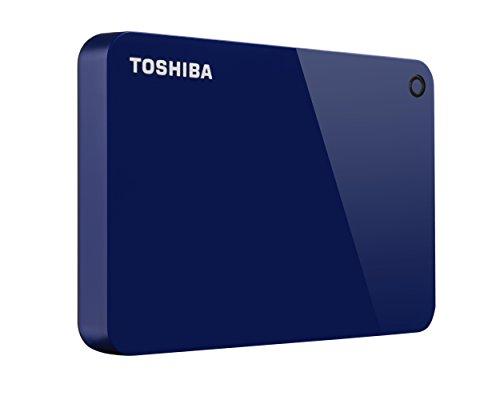 Toshiba Canvio Connect II Tragbare 1Tb Festplatte blau blau 2TB