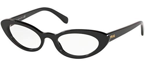 Miu Miu Brillen VMU 01S BLACK Damenbrillen