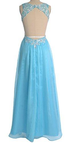 MACloth - Robe - Femme Cielo azul
