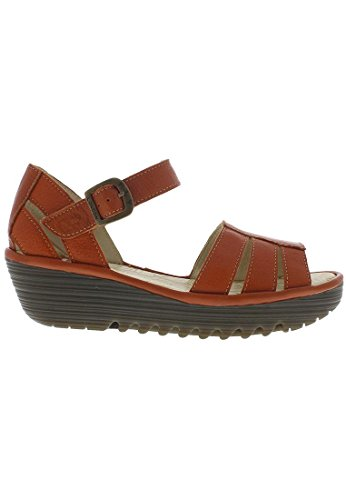 FLY London Damen Rese730fly Sandalen Orange