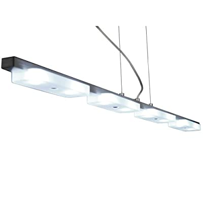 s`luce Project LED Pendelleuchte 8x1W, 114cm, alu-matt PD-19028-8 von Licht-Design Skapetze GmbH & Co KG auf Lampenhans.de
