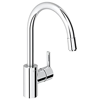 GROHE 32671000 | Feel Kitchen Tap | Pull-Down Spray