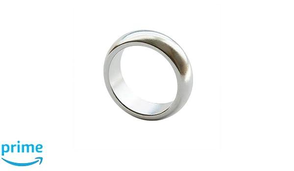 xtrafast Wow PK-Ring mit 17 Profi-Zaubertricks Zaubern Magie Silber 18mm Innendurchmesser