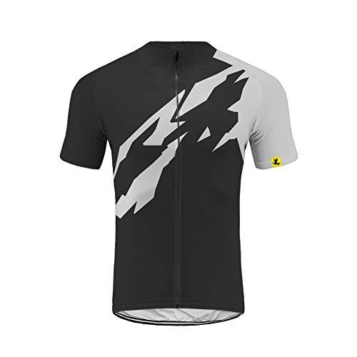 Uglyfrog LJ36 2019 Neue Spring/Sommer/Sommer Jersey Fahrradtrikot Vlies Kurze Ärmel Shirt Herren Breathable Top Fahrradbekleidung Radfahren