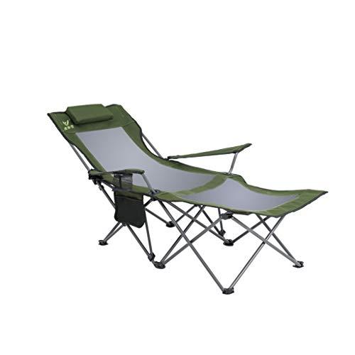 Liegestuhl Portable Klappstuhl Haushalt Outdoor Angeln Stuhl Sechs-Punkt-Unterstützung Speed-Speicher ( Farbe : D ) - Speed-speicher