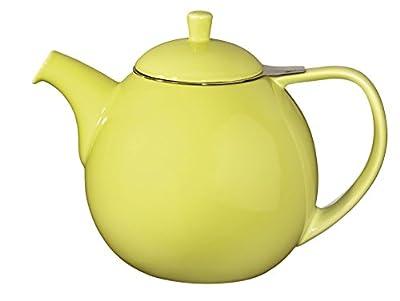 Forlife Théière Curve 1,3l, vert citron, avec passoire en acier