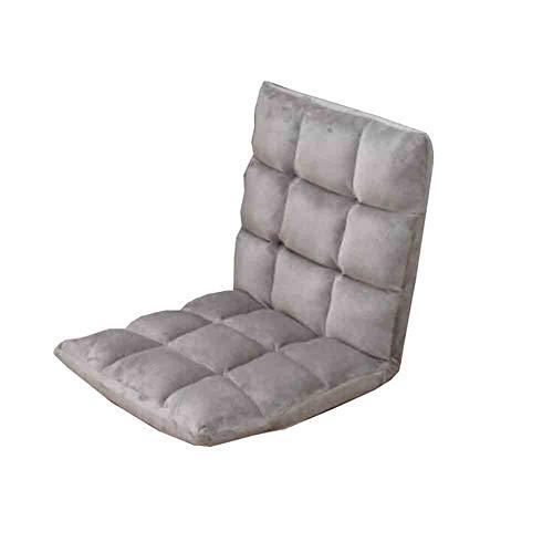 Wgxx sedie pieghevoli sedile divano letto sedile pieghevole sedile per sdraie sleeper materasso (colore : gray)